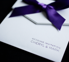 Pocketfold Wedding Invitations from Whesthill