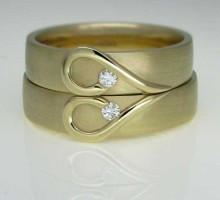 Two Become One Wedding Rings