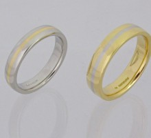 Handmade His and Hers Wedding Rings