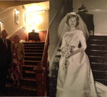 Wedding Anniversary – Still Celebrating 50 years on!
