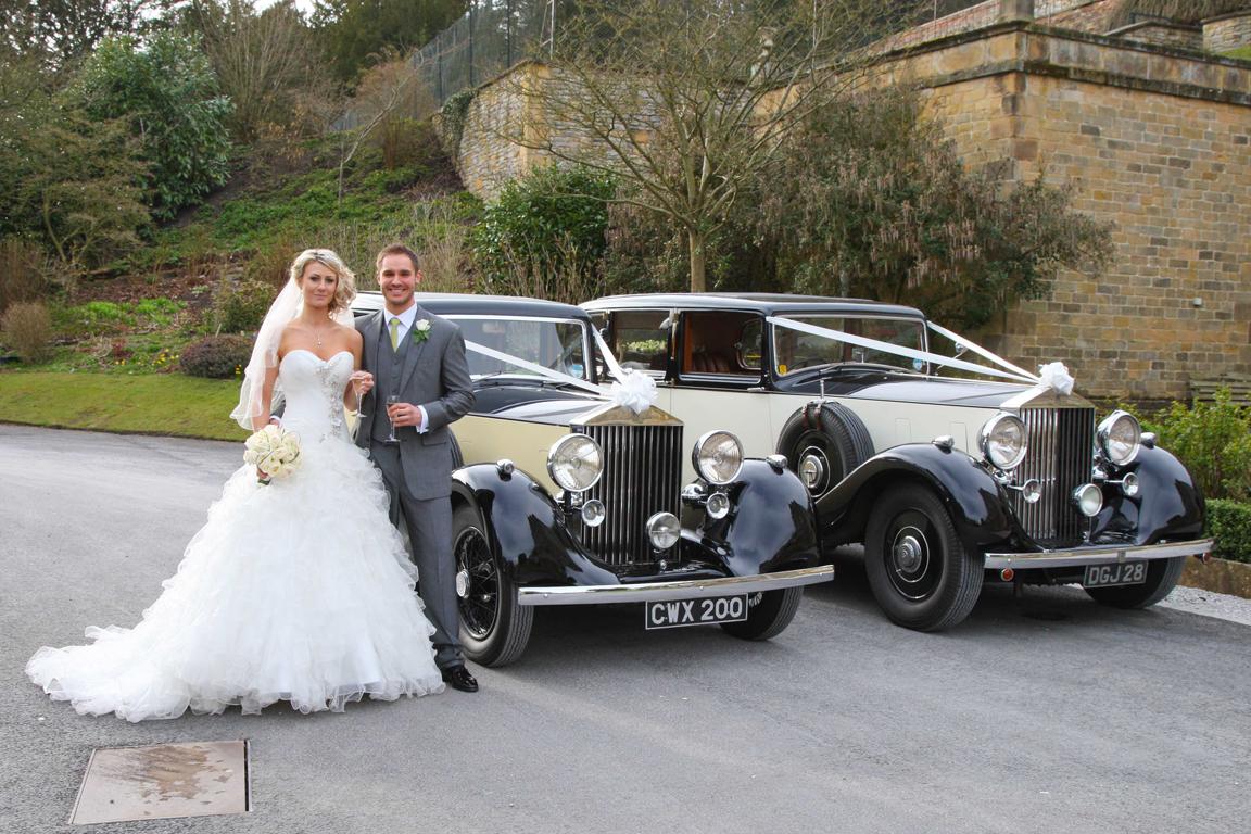 Wedding car decoration uk