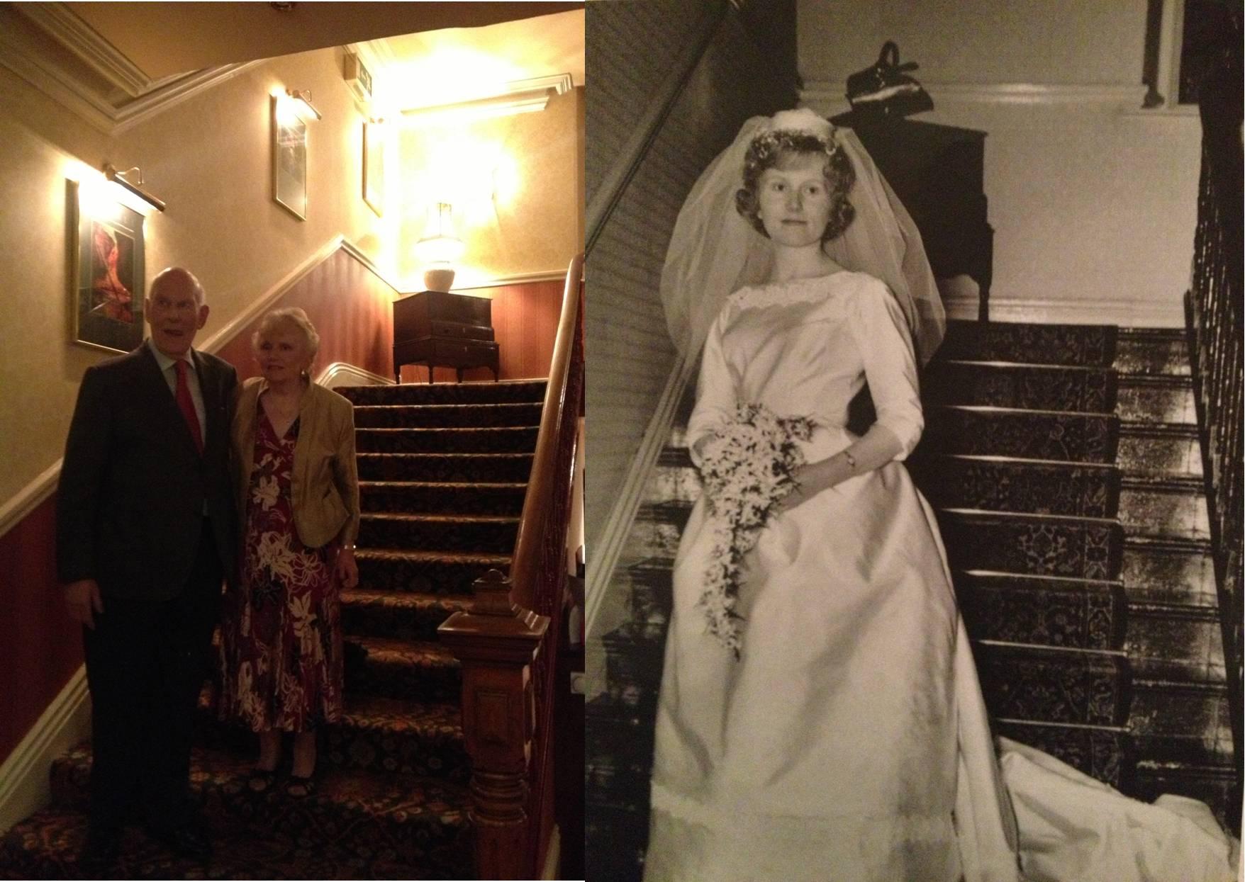 Wedding Anniversary 50 years Lee Wood Hotel